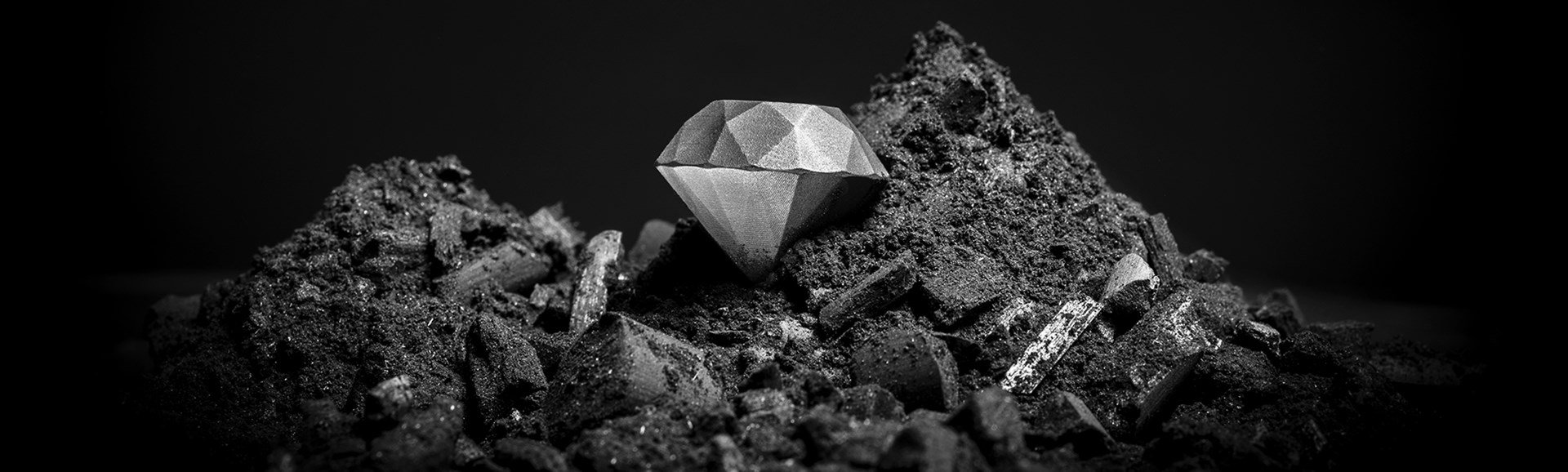 The world's first 3D printed diamond composite — An innovation by
